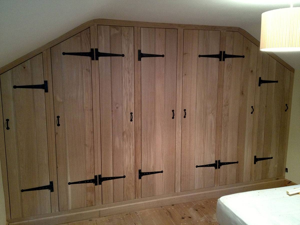 Fitted Wardrobes, Norwich - The Norfolk Carpenter throughout Solid Wood Fitted Wardrobes (Image 16 of 30)