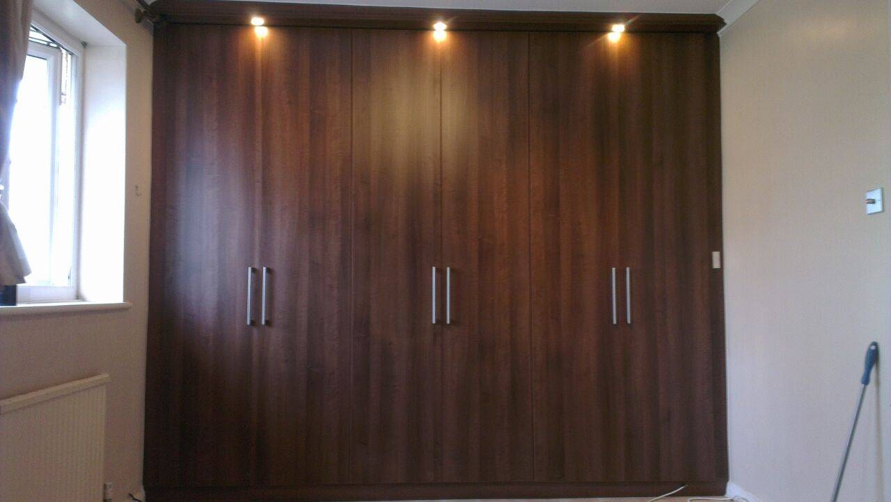 Fitted Wardrobes Photos | Fitted Wardrobes | Capital Bedrooms for Walnut Wardrobes (Image 6 of 15)