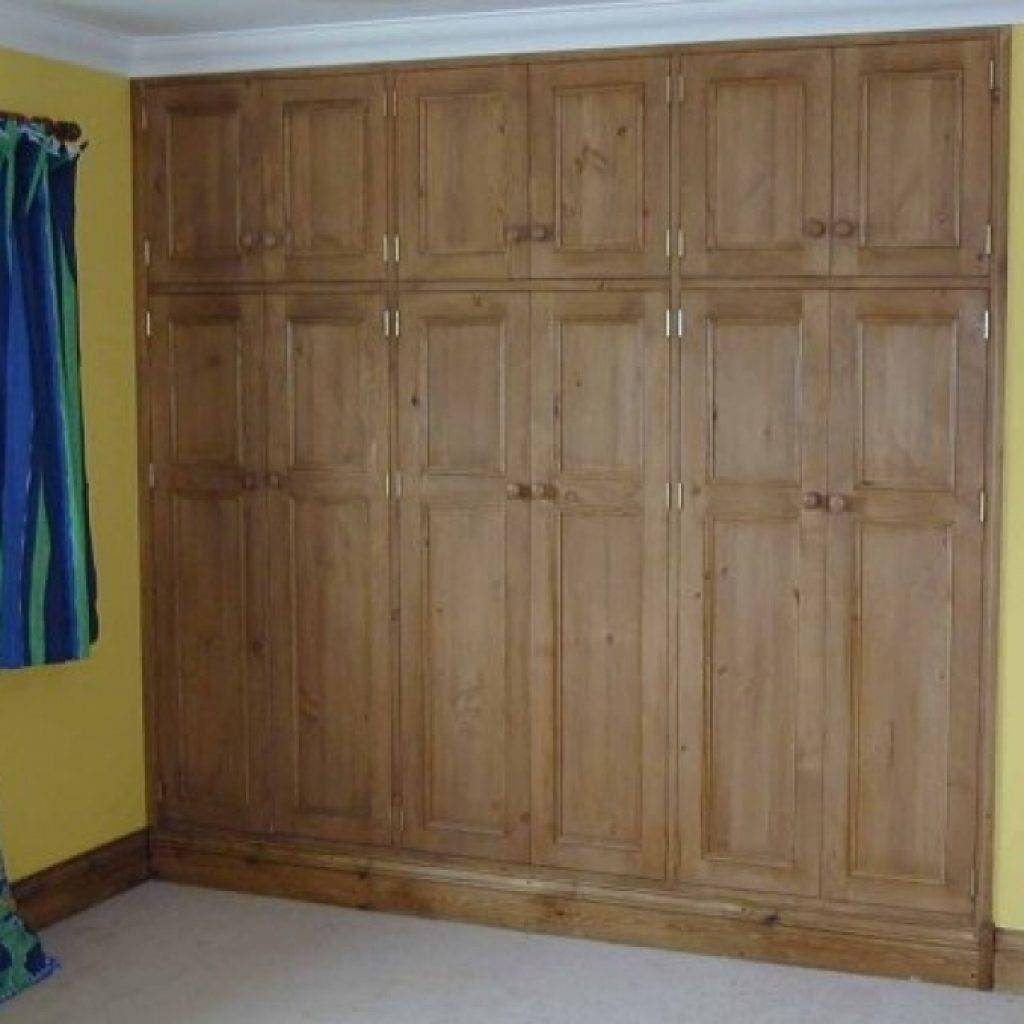 Fitted Wooden Wardrobes Bedroom Wardrobe Pineland Furniture Ltd in Fitted Wooden Wardrobes (Image 23 of 30)