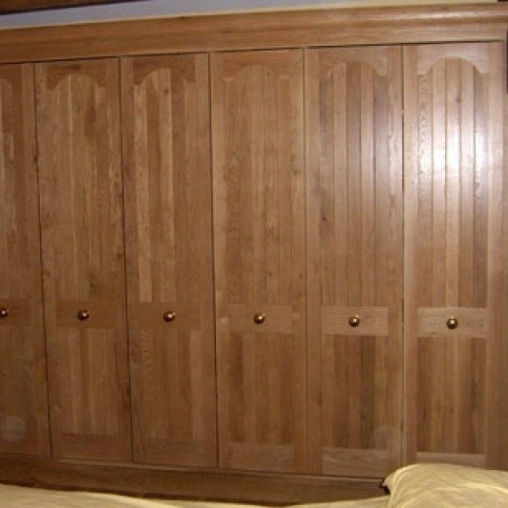 Fitted Wooden Wardrobes Bespoke Wooden Bedroom Furniture Built In inside Fitted Wooden Wardrobes (Image 24 of 30)