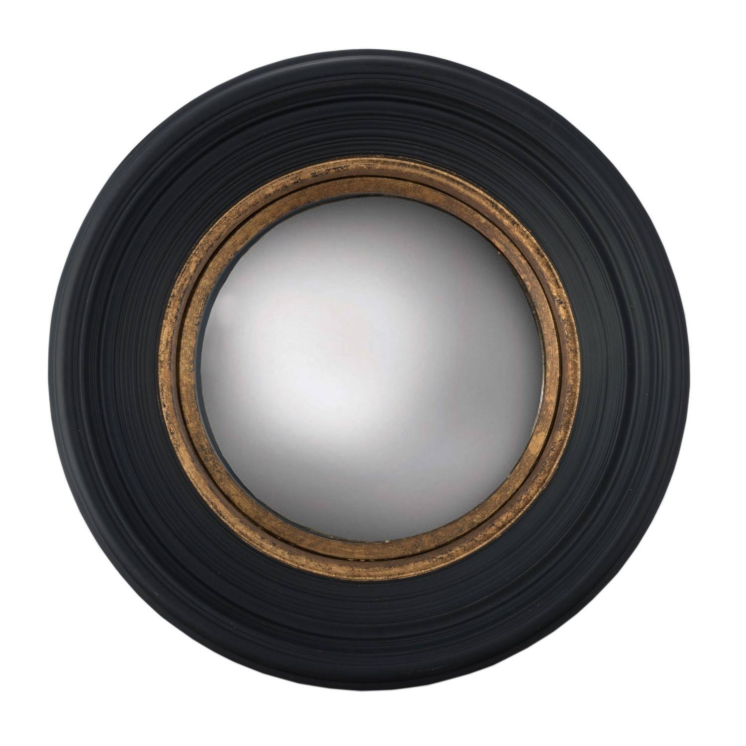 Fitzroy Convex Mirror - Black - India Jane within Black Convex Mirrors (Image 7 of 25)