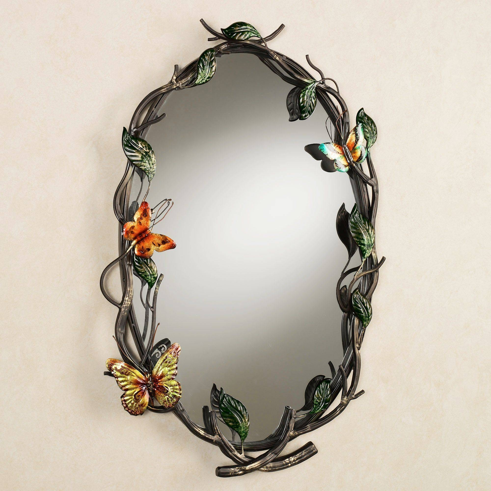 Flight Of The Butterfly Wall Mirror pertaining to Butterfly Wall Mirrors (Image 10 of 25)