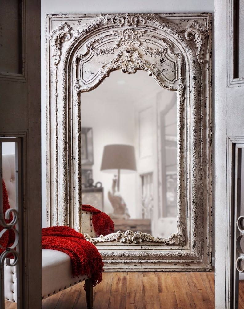 Flooring : Large Floor Mirrors Wholesale Leaning Mirror Antique within Large Floor Mirrors (Image 6 of 20)