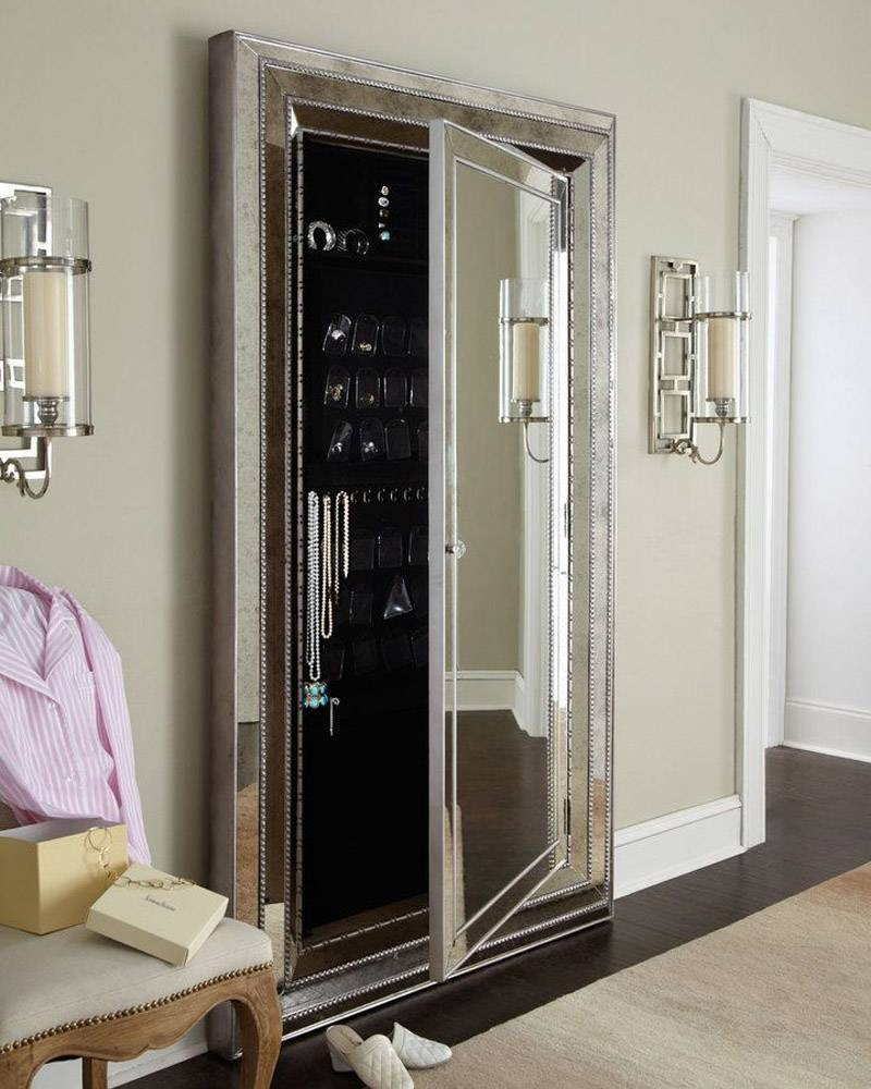 Flooring : Large Full Length Floor Mirror Hanging Mirrorslarge intended for Large Floor Length Mirrors (Image 12 of 25)