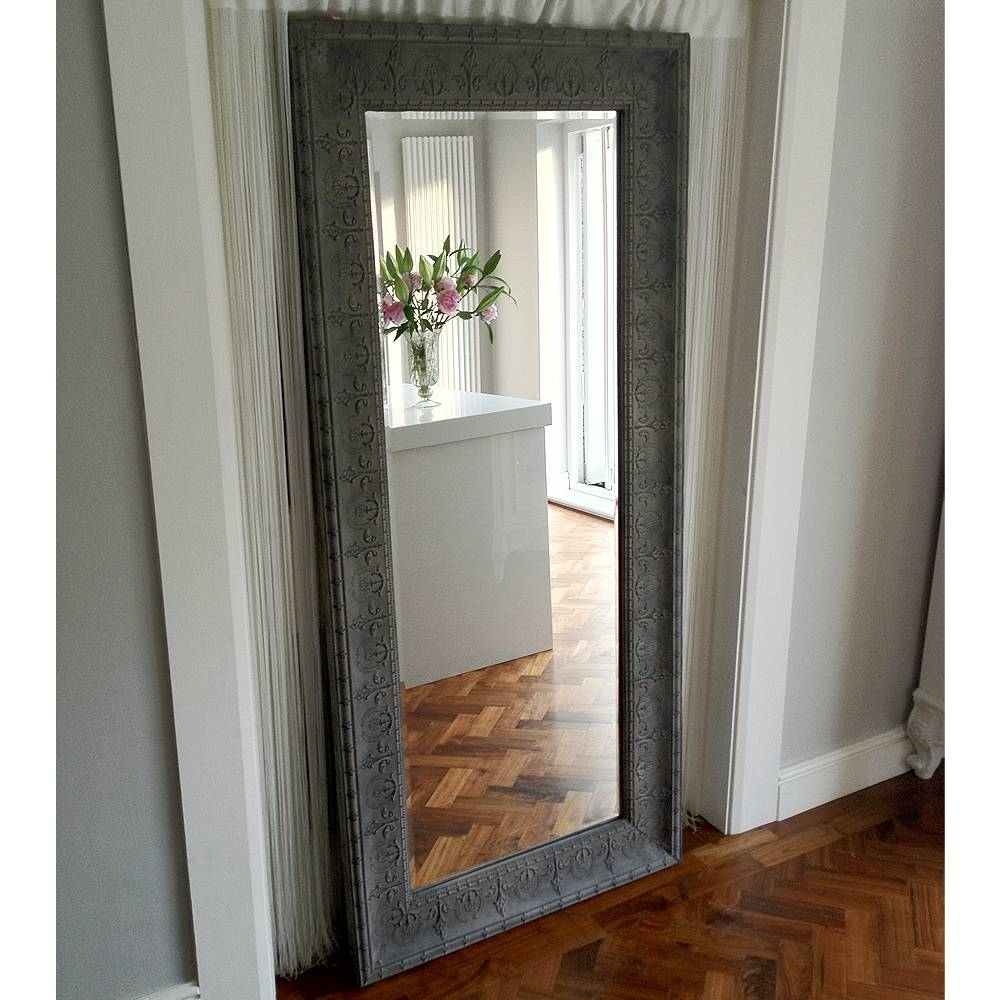 Flooring : Shocking Floor Length Mirror Picture Ideas Antique intended for French Full Length Mirrors (Image 7 of 25)