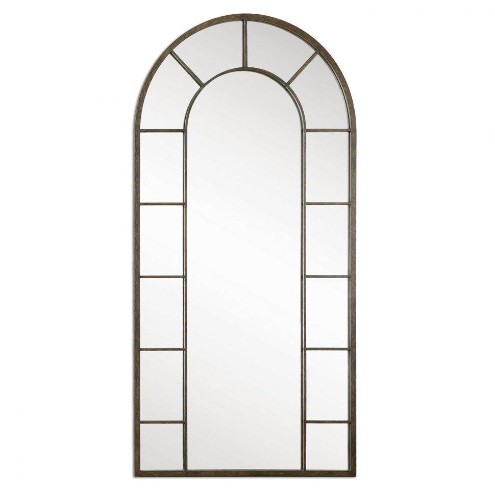 Flooring : Uttermost Dillingham Black Arch Floor Mirror Antique inside Antique Arched Mirrors (Image 16 of 25)