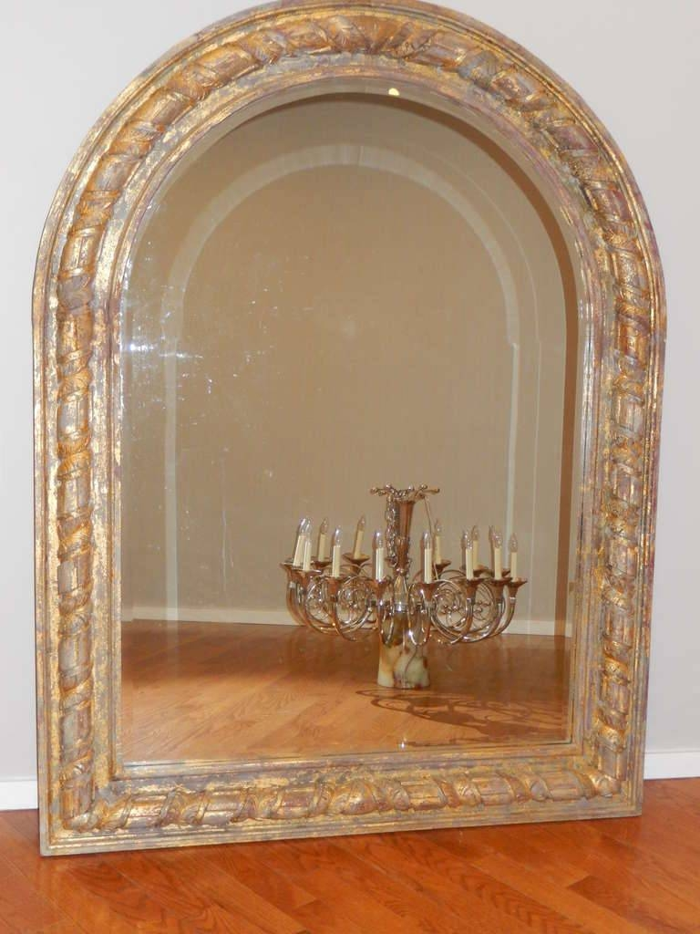 Flooring : Uttermost Dillingham Black Arch Floor Mirror Antique with Antique Arched Mirrors (Image 17 of 25)