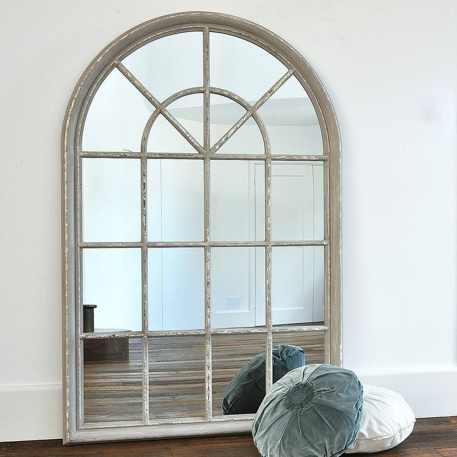 Flooring : Uttermost Dillingham Black Arch Floor Mirror Antique with regard to Window Arch Mirrors (Image 12 of 25)