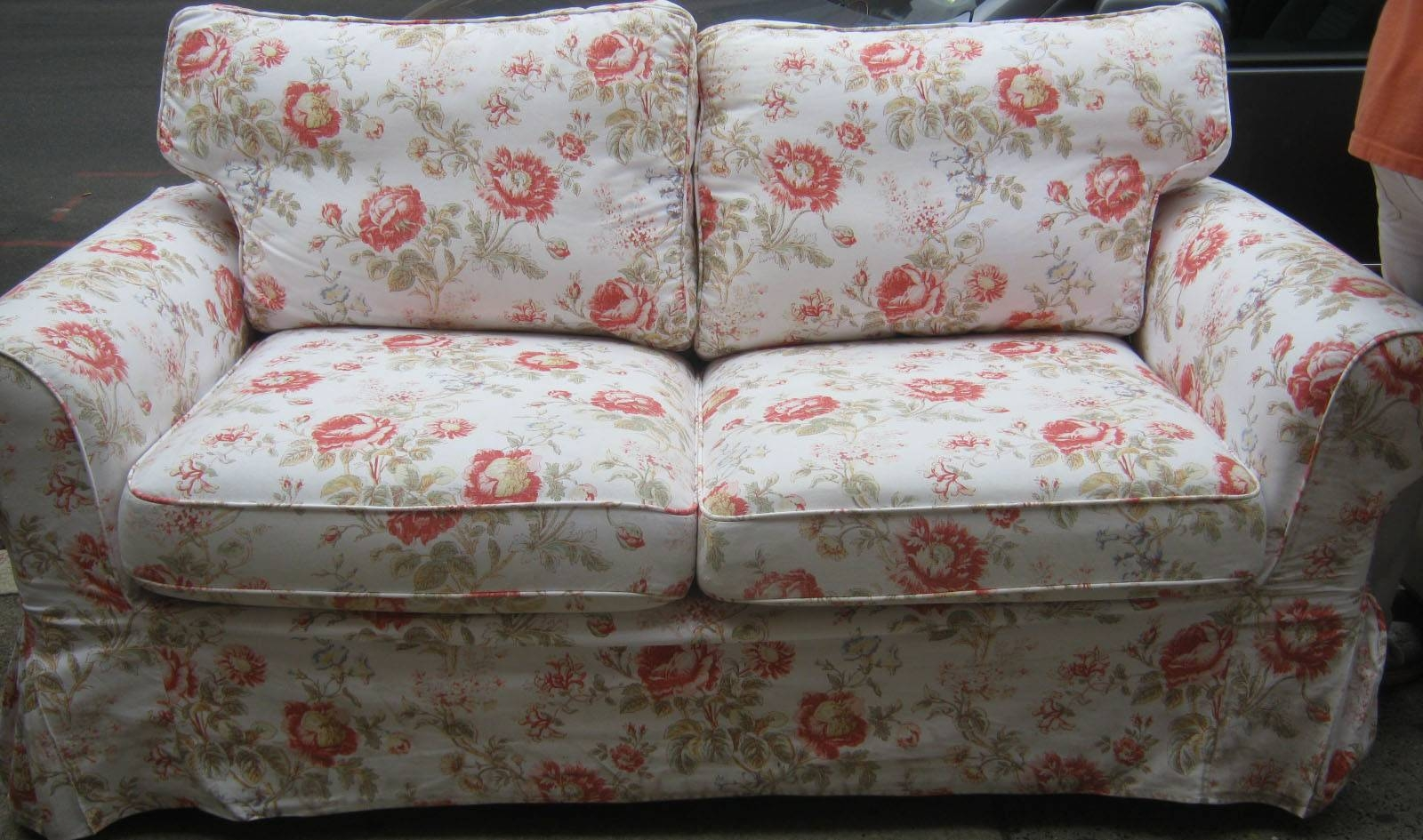 Floral Sofa with Sofas With Removable Covers (Image 10 of 30)