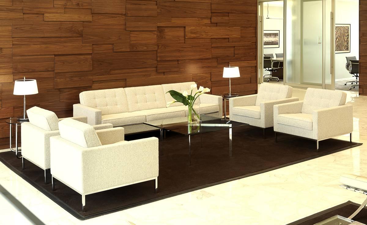 Florence Knoll 3 Seat Sofa - Hivemodern regarding Florence Sofas (Image 9 of 30)