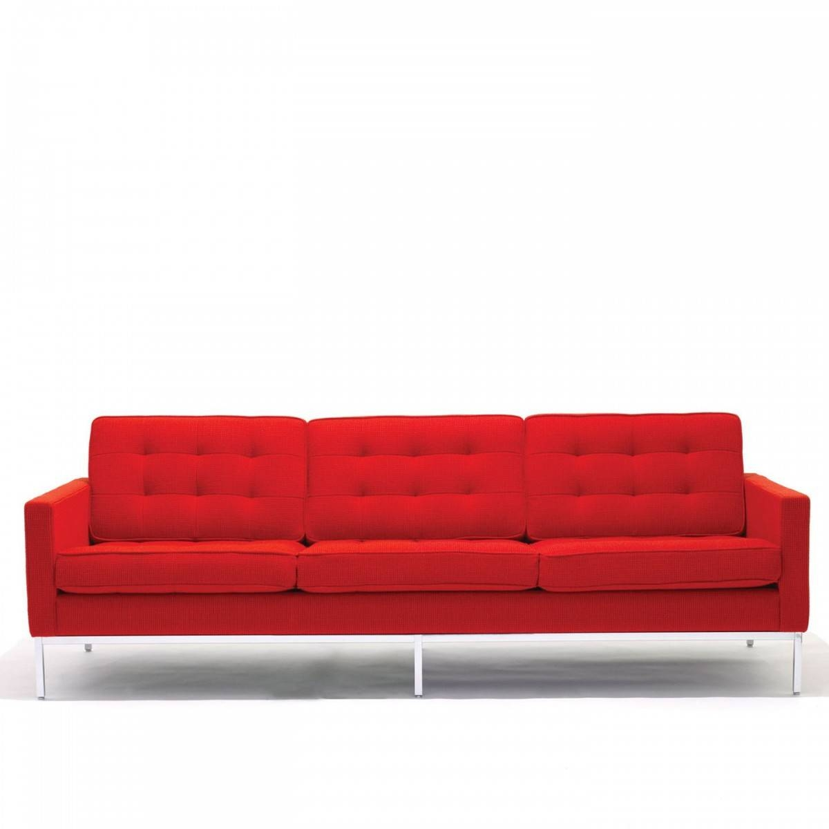 Florence Knoll 3 Seat Sofa regarding Florence Knoll 3 Seater Sofas (Image 11 of 30)