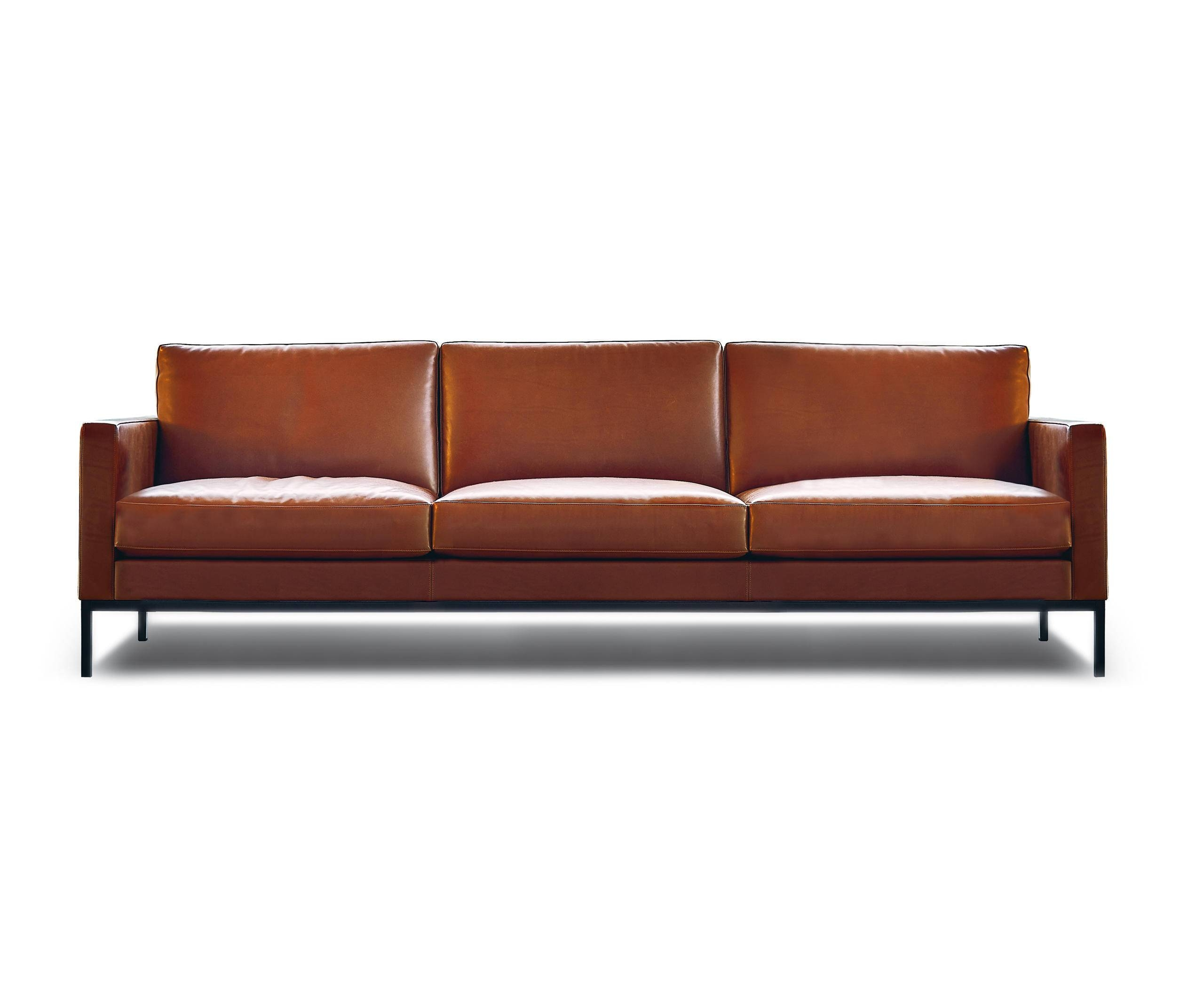 Florence Knoll Lounge 3 Seat Sofa - Lounge Sofas From Knoll in Florence Large Sofas (Image 7 of 30)