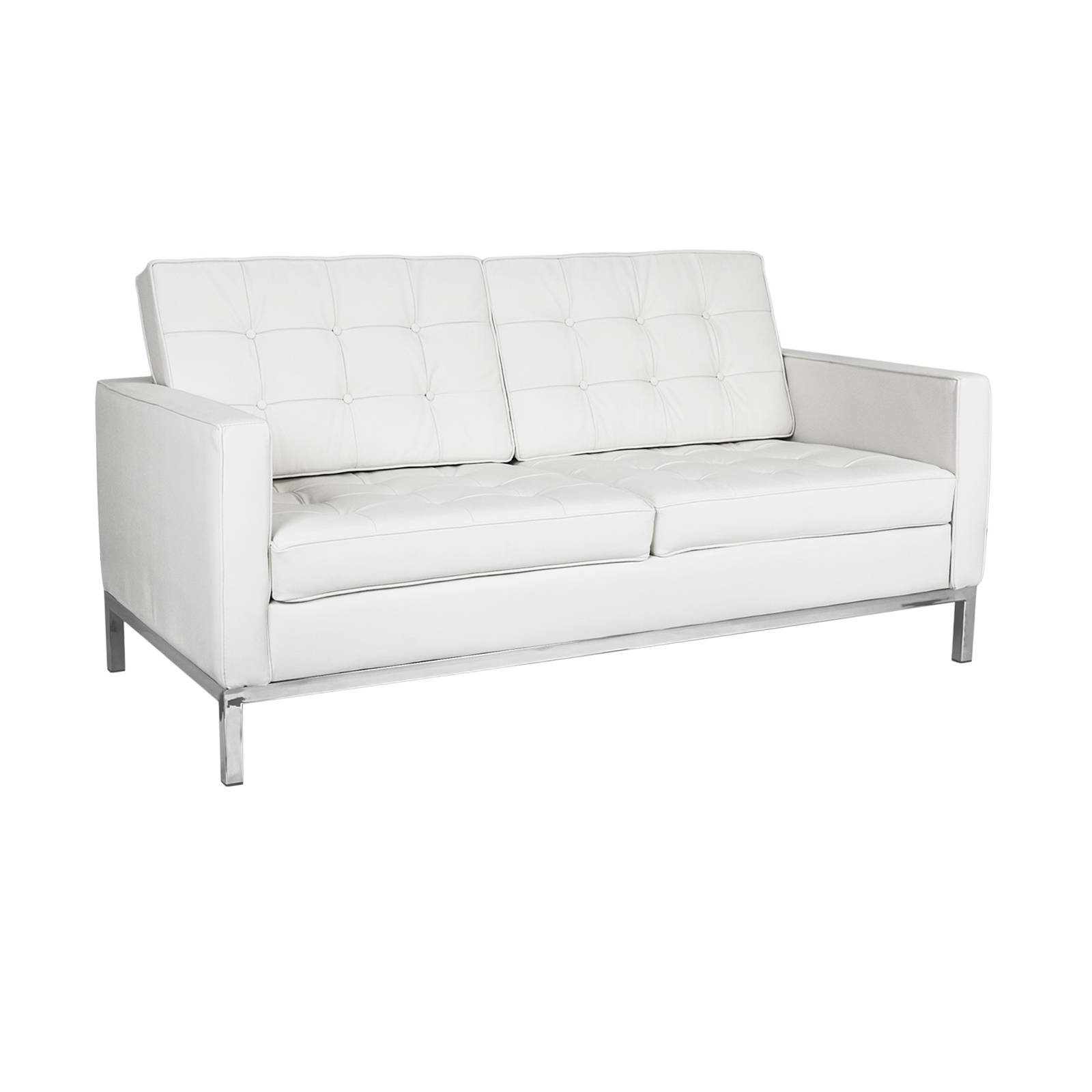 Florence Knoll Loveseat Rentals | Event Furniture Rental in Florence Sofas and Loveseats (Image 3 of 25)