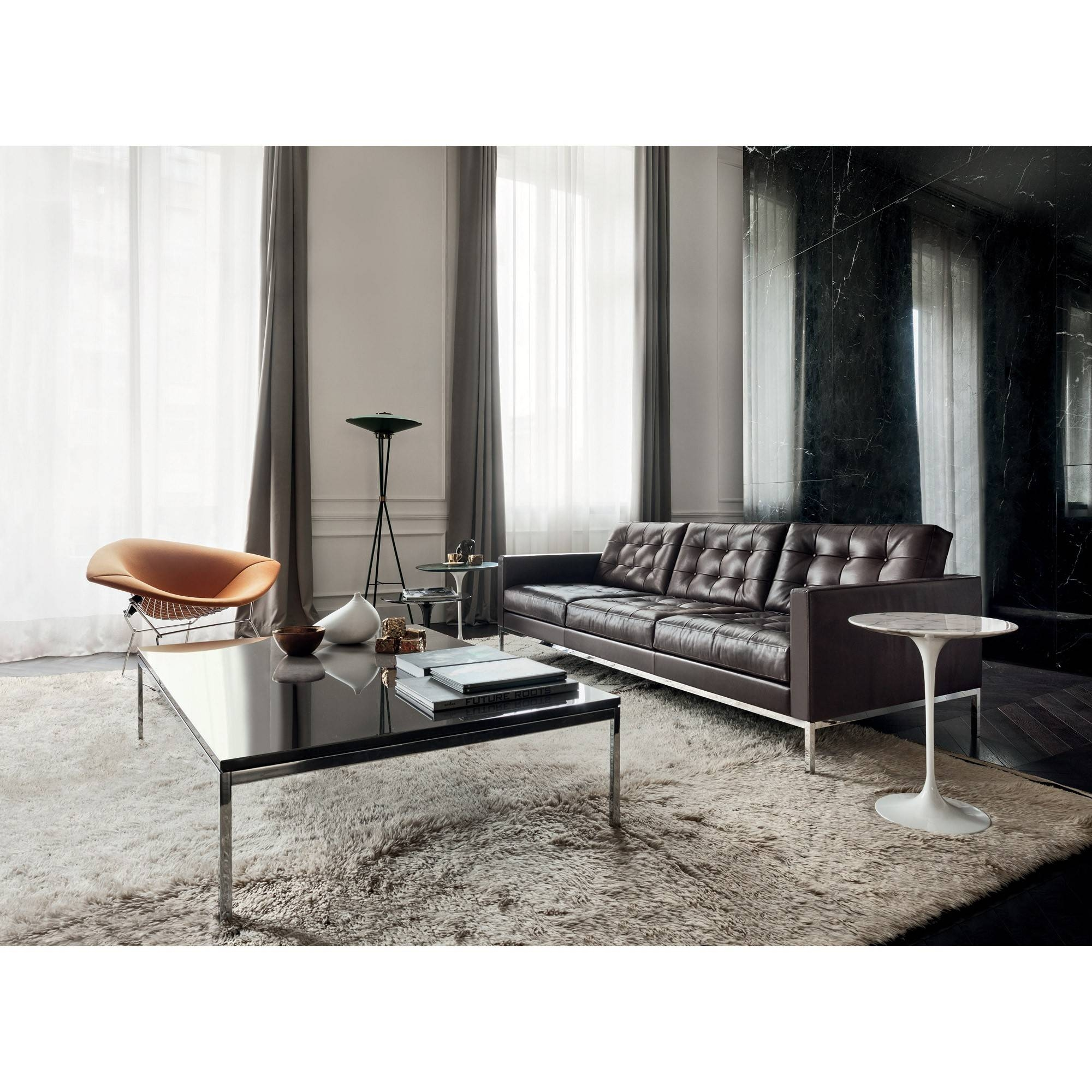 Florence Knoll 'relax' Sofa | Skandium for Florence Knoll 3 Seater Sofas (Image 4 of 30)