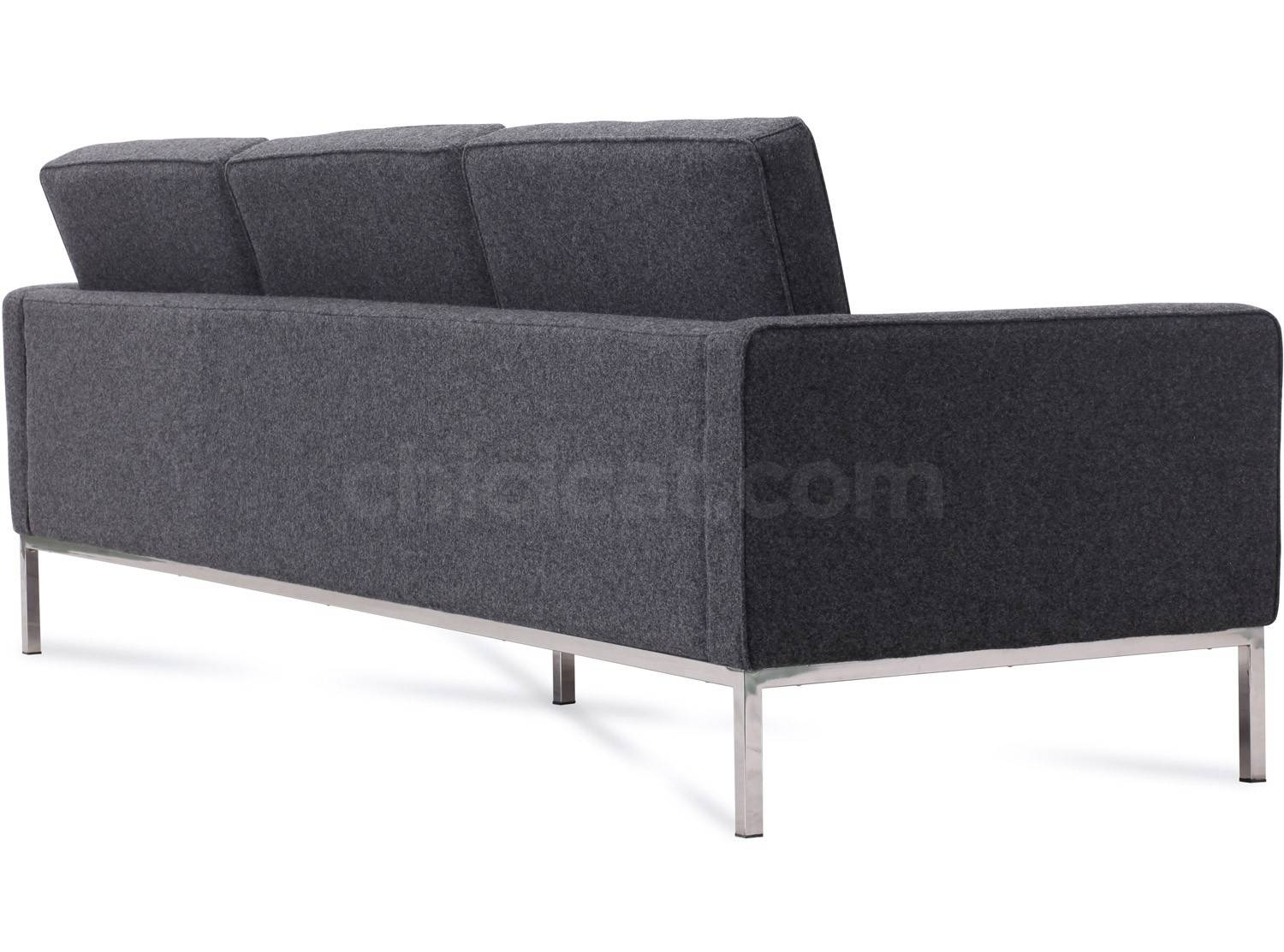 Florence Knoll Sofa pertaining to Florence Knoll 3 Seater Sofas (Image 19 of 30)