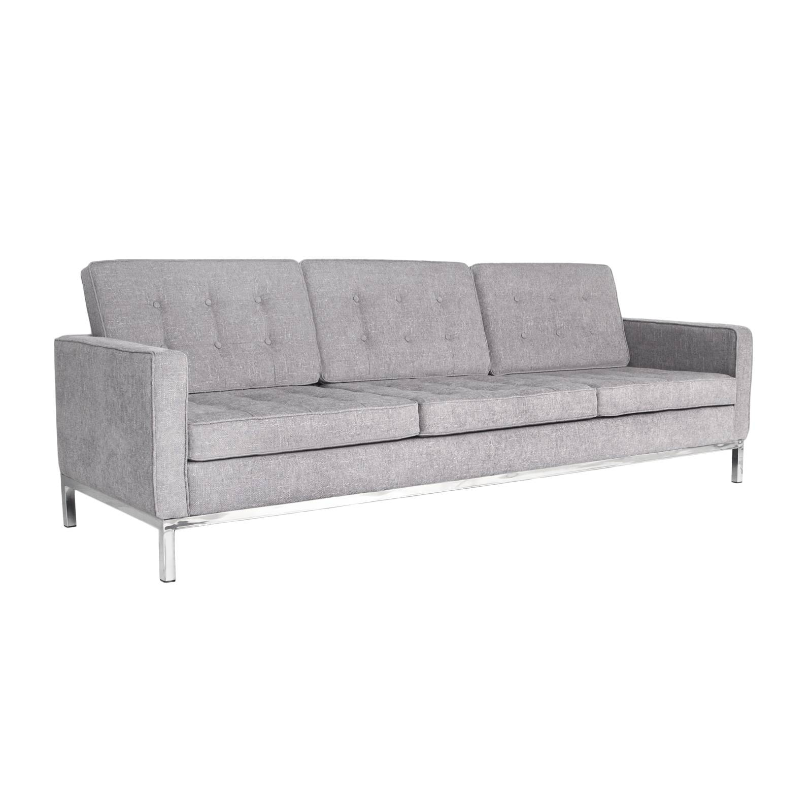 Florence Knoll Sofa Rentals | Event Furniture Rental | Delivery in Florence Knoll Wood Legs Sofas (Image 10 of 25)