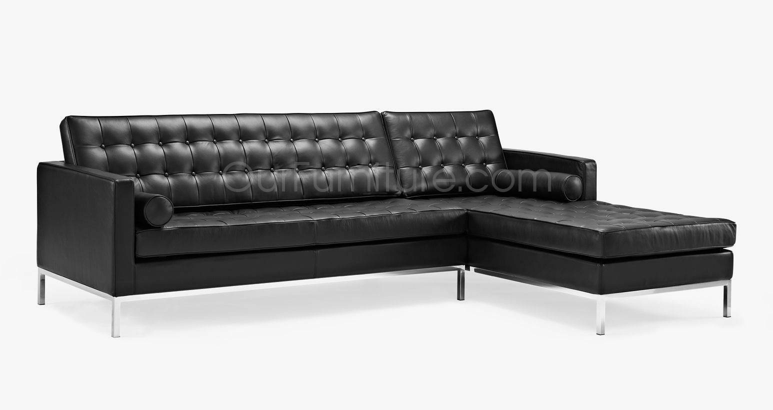 Florence Knoll Style Corner Sofa with Florence Knoll Style Sofas (Image 6 of 25)
