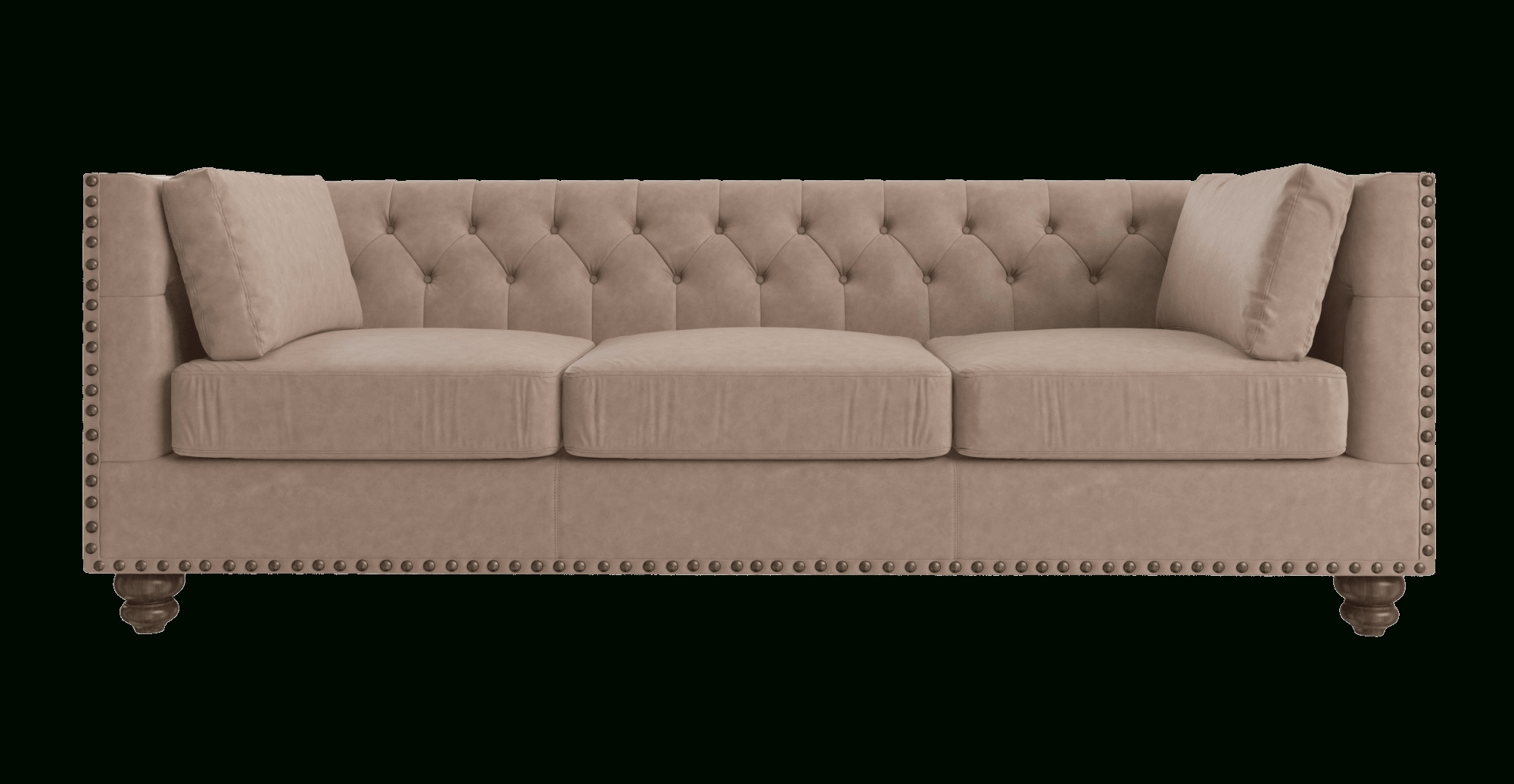 Florence Leather 3 Seater Sofa pertaining to Three Seater Sofas (Image 16 of 30)