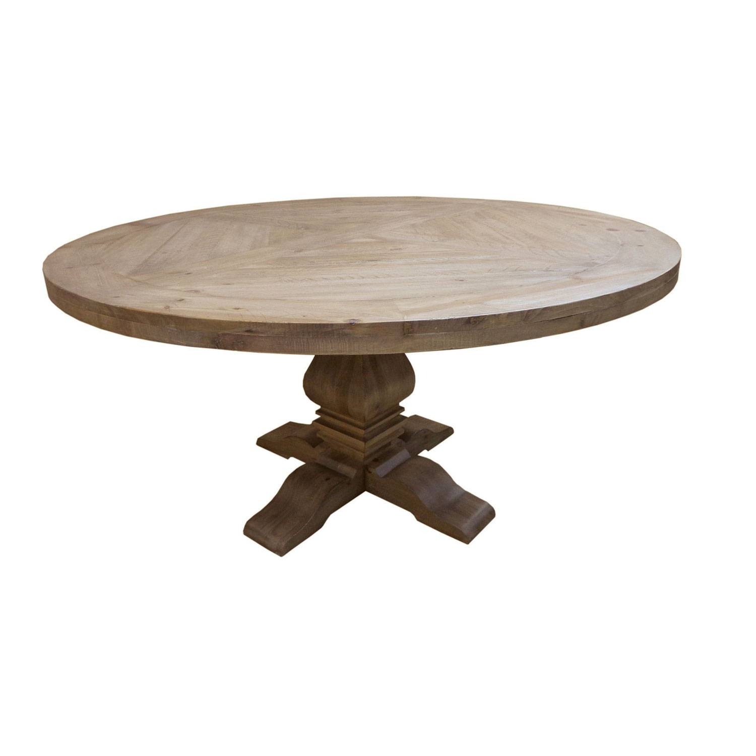 Florence Pine Round Dining Table Donny Osmond Home Dining Tables intended for Round Pine Coffee Tables (Image 14 of 30)