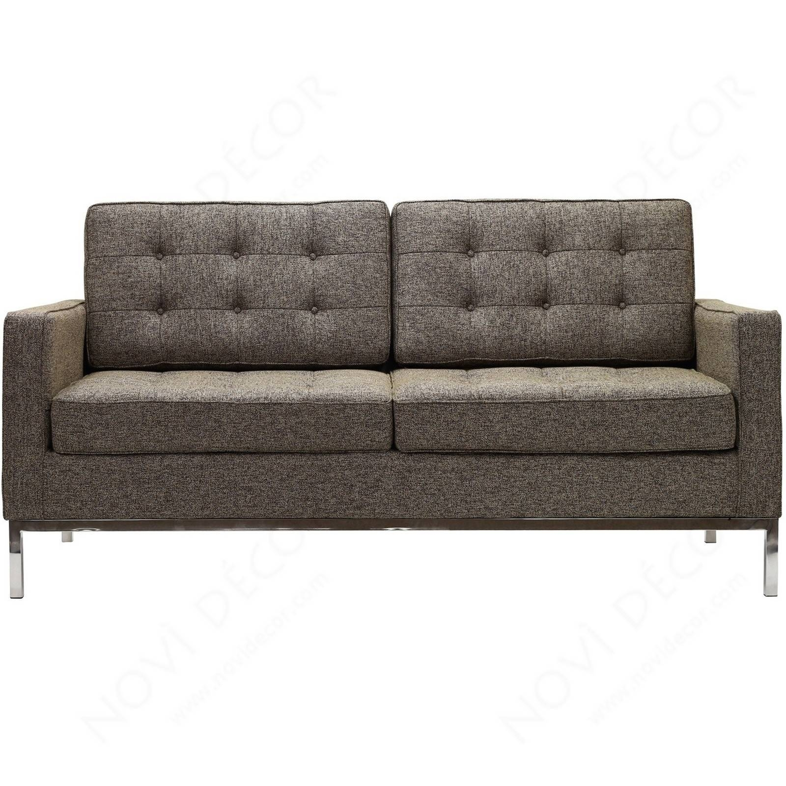 Florence Style Loveseat In Wool (Multiple Colors) | Designer within Florence Sofas and Loveseats (Image 17 of 25)