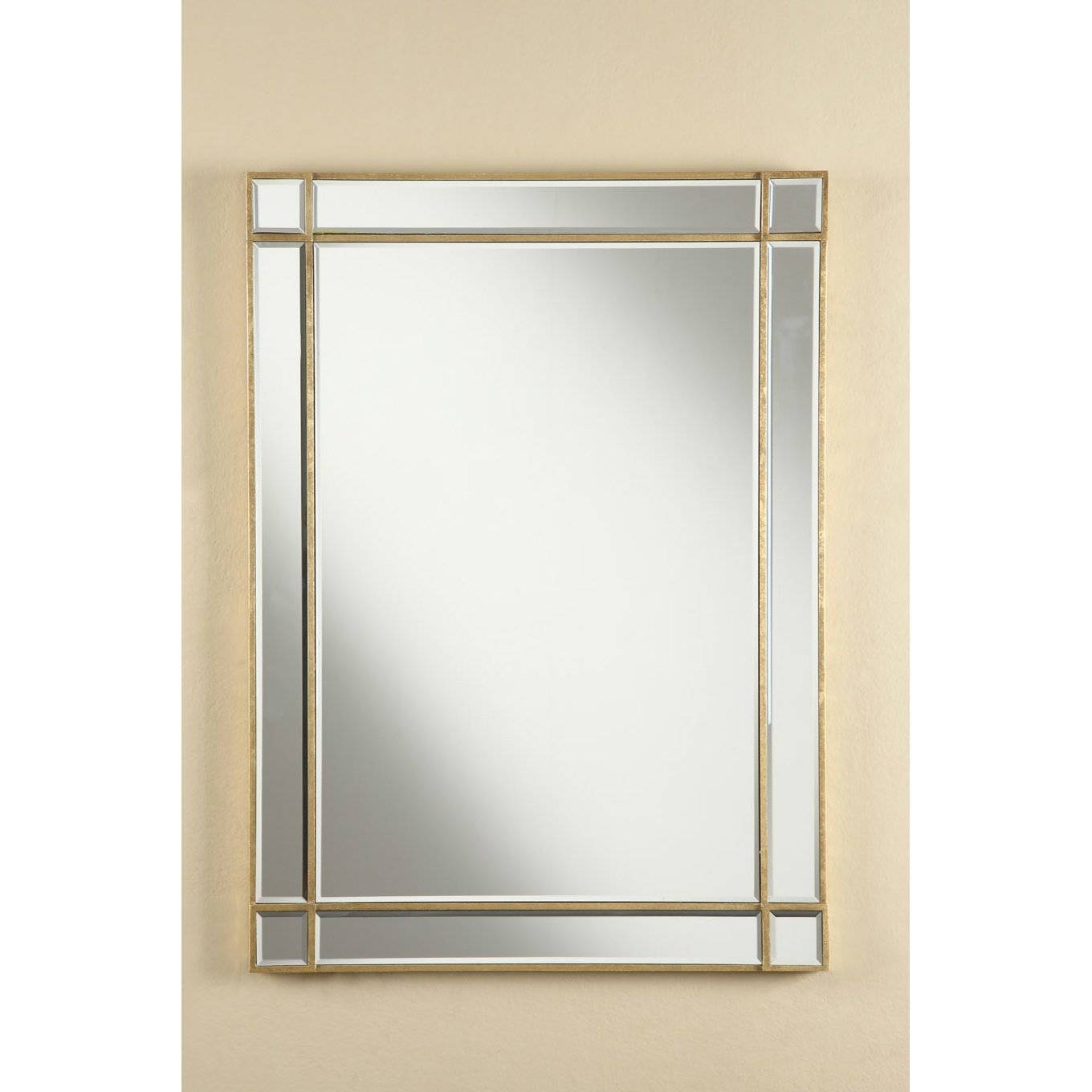 Florentina Antiqued Wall Mirror & Reviews | Joss & Main throughout Antiqued Wall Mirrors (Image 15 of 25)