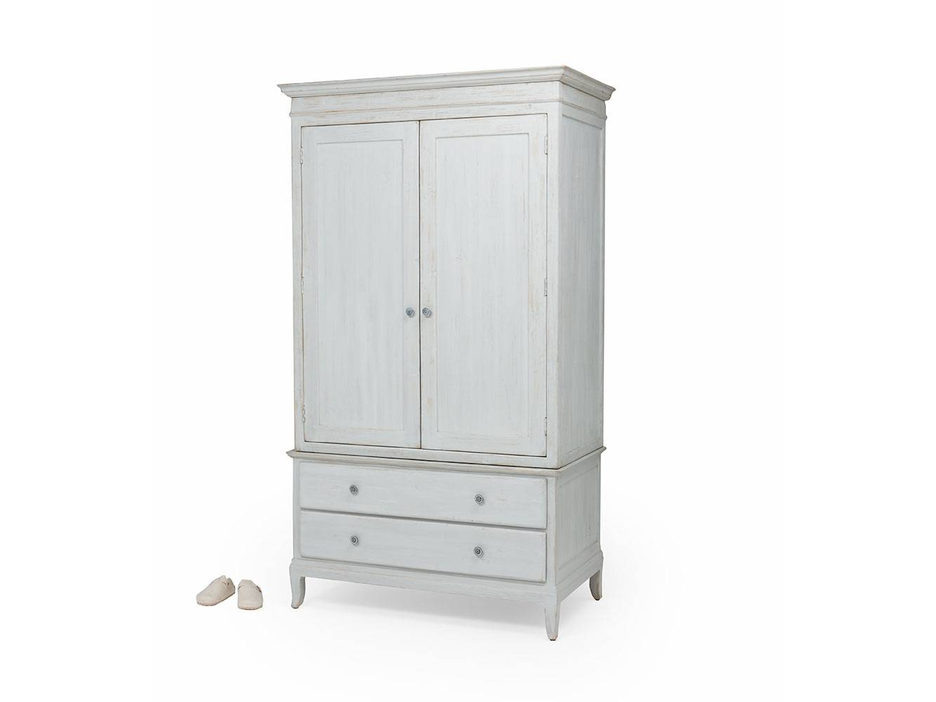 Flutterby Wardrobe | Reclaimed Wood Wardrobe | Loaf within White Wood Wardrobes (Image 3 of 15)