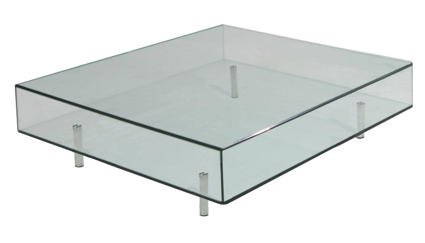 Focus One Home Arron Square Coffee Table & Reviews | Wayfair throughout White Square Coffee Table (Image 18 of 30)