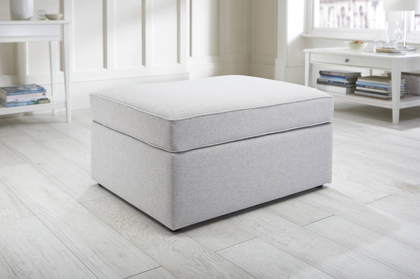 Footstool Pouffe Sofa Folding Bed. About Folding Faux Leather intended for Footstool Pouffe Sofa Folding Bed (Image 8 of 25)