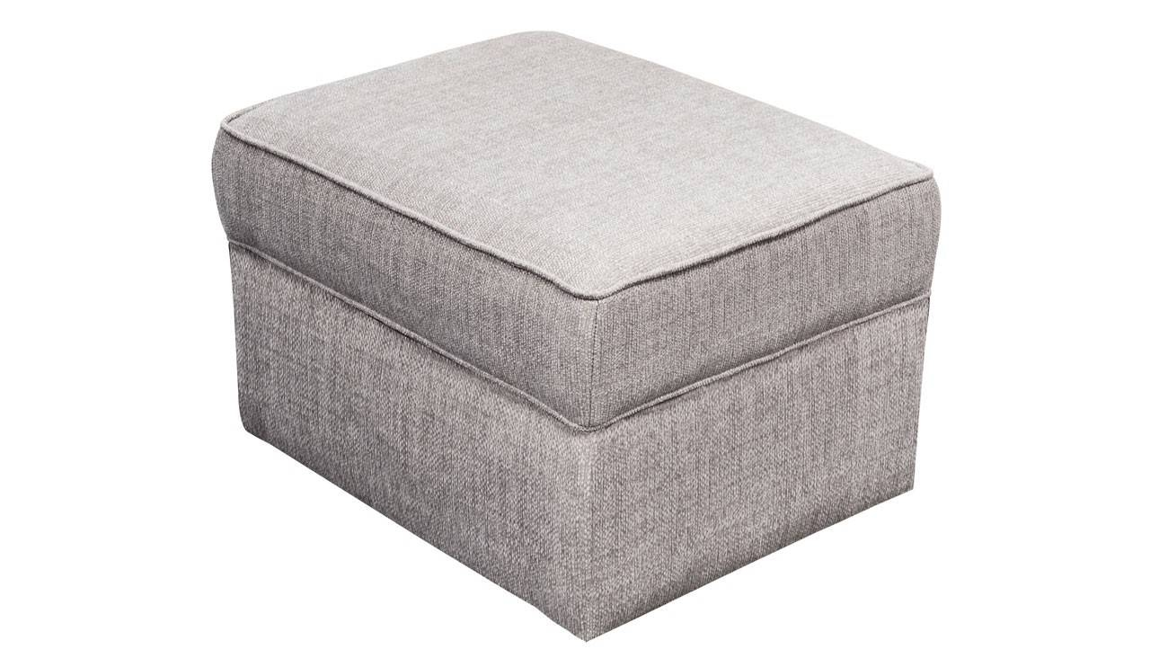 Footstool With Storage From The Hepburn Range | Ahf regarding Fabric Footstools (Image 11 of 30)