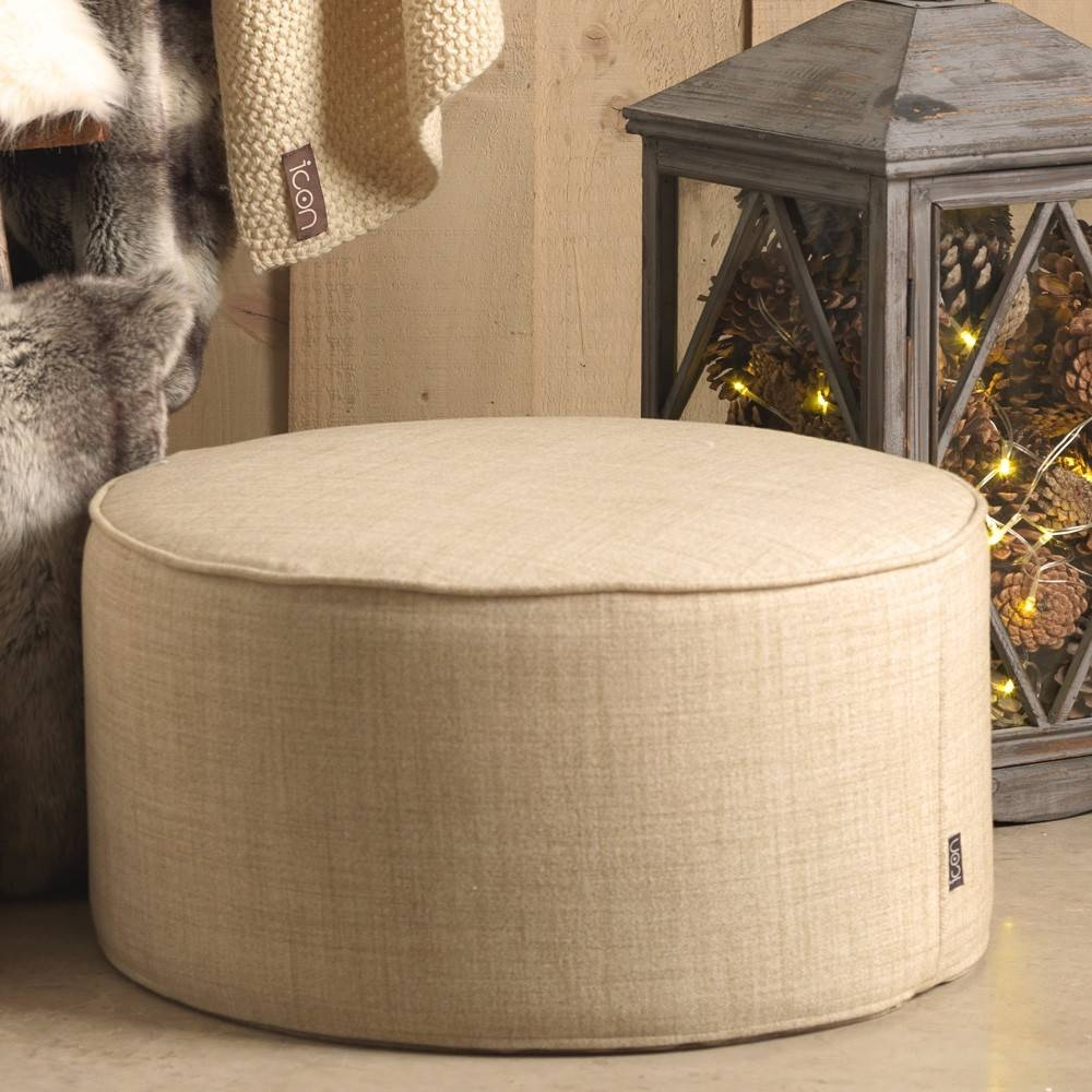 Footstools & Pouffes | Beanbagbazaar within Footstools and Pouffes (Image 7 of 30)