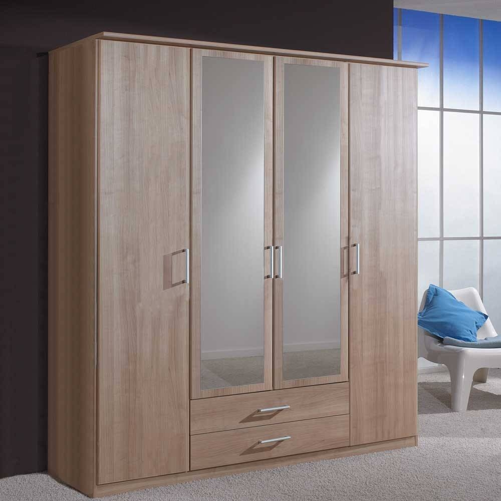 Four Door Wardrobe - Probrains intended for Wardrobes 4 Doors (Image 4 of 15)