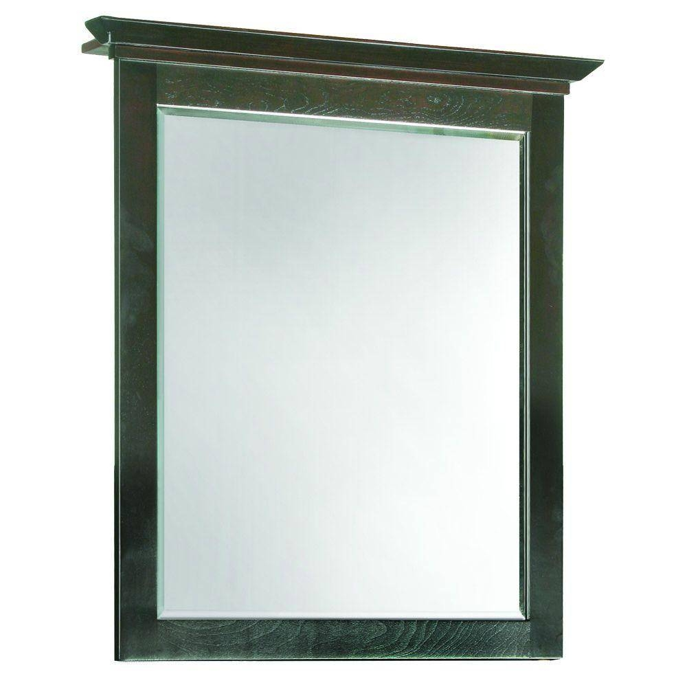 Framed - Bathroom Mirrors - Bath - The Home Depot intended for Mirrors With Blue Frame (Image 11 of 25)