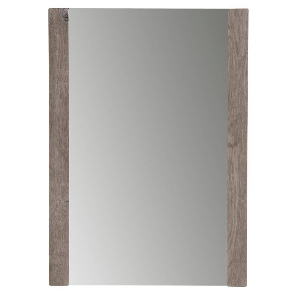 Framed - Bathroom Mirrors - Bath - The Home Depot within Oak Framed Wall Mirrors (Image 3 of 25)