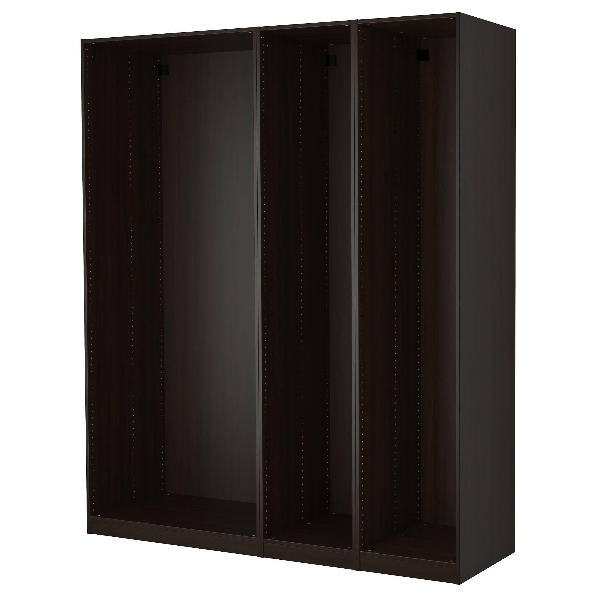 30 Ideas Of Dark Wood Wardrobes Ikea