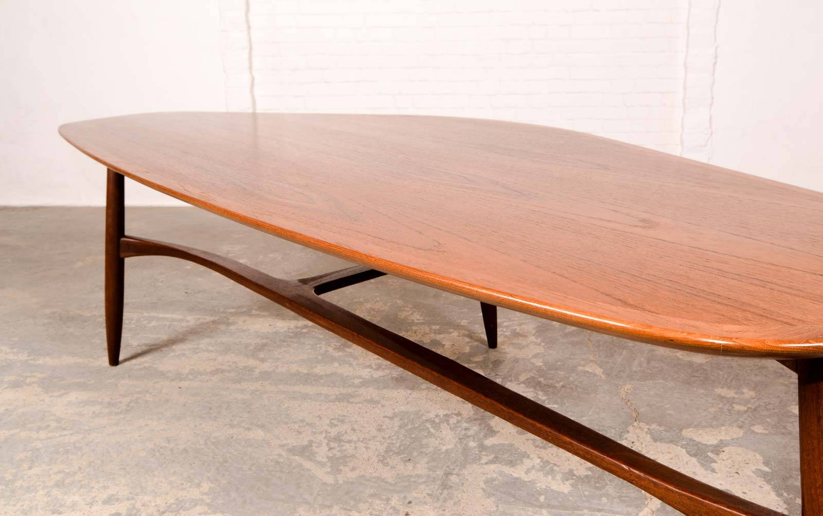 Free Form Shaped Kidney Coffee Table Designedsvante Skogh with regard to Free Form Coffee Tables (Image 11 of 30)