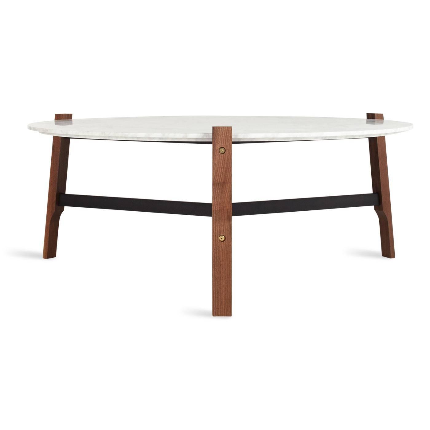 Free Range Coffee Table - Round Marble Coffee Table | Blu Dot for Marble Round Coffee Tables (Image 19 of 30)
