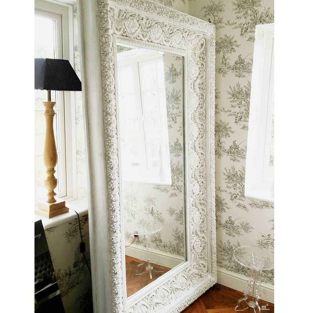 Free Standing Mirror Full Length – Harpsounds.co intended for French Full Length Mirrors (Image 8 of 25)