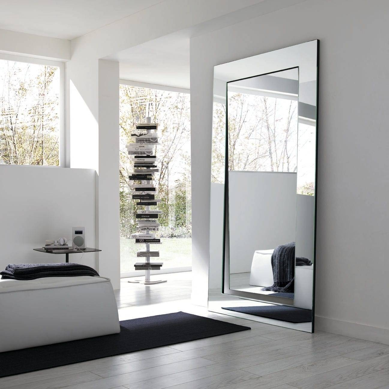 Free-Standing Mirror / Wall-Mounted / Contemporary / Oval in Oval Freestanding Mirrors (Image 14 of 25)