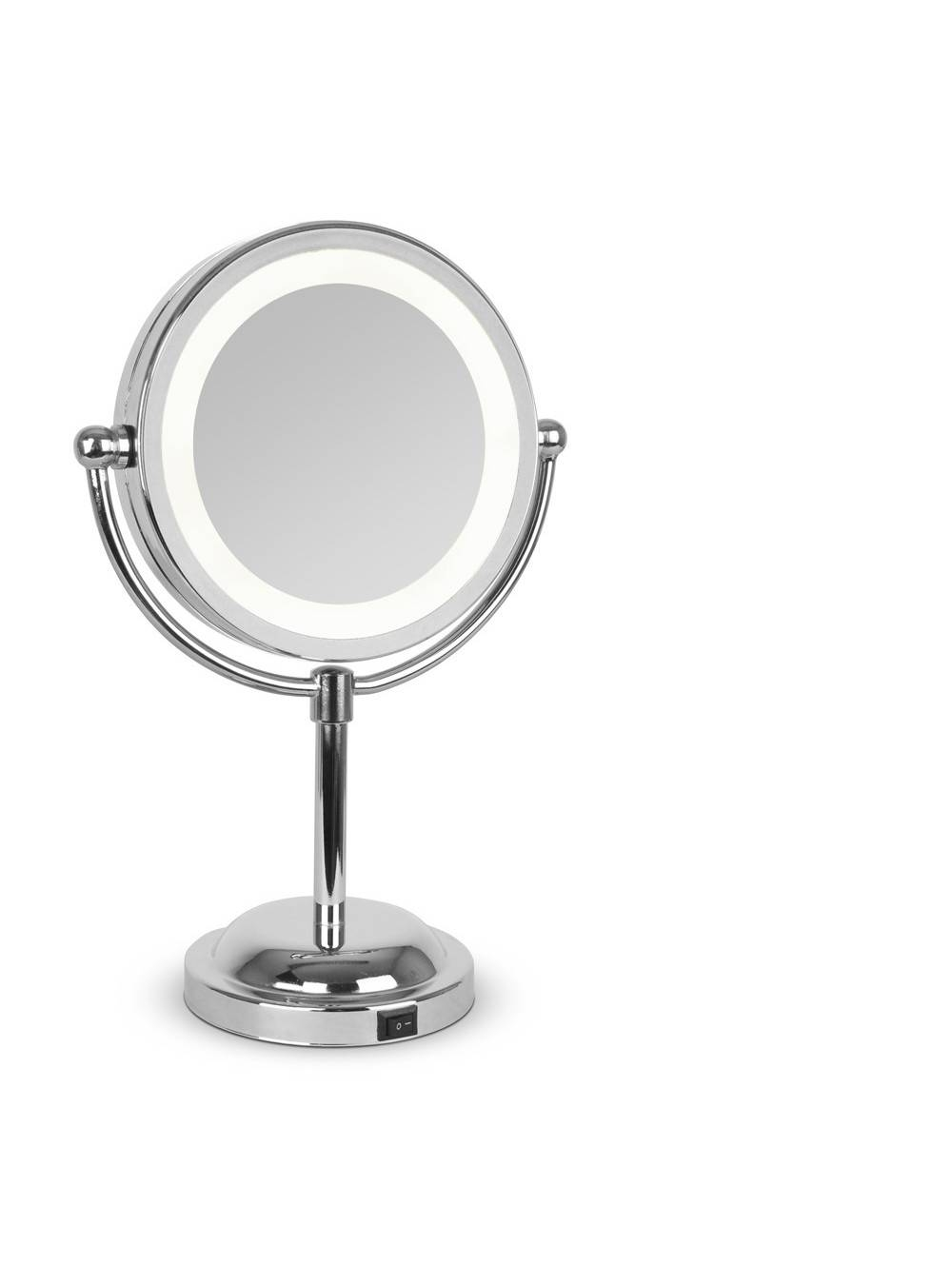 Free Standing Shaving Mirror. High Quality Dual Sided Cosmetic inside Small Free Standing Mirrors (Image 14 of 25)