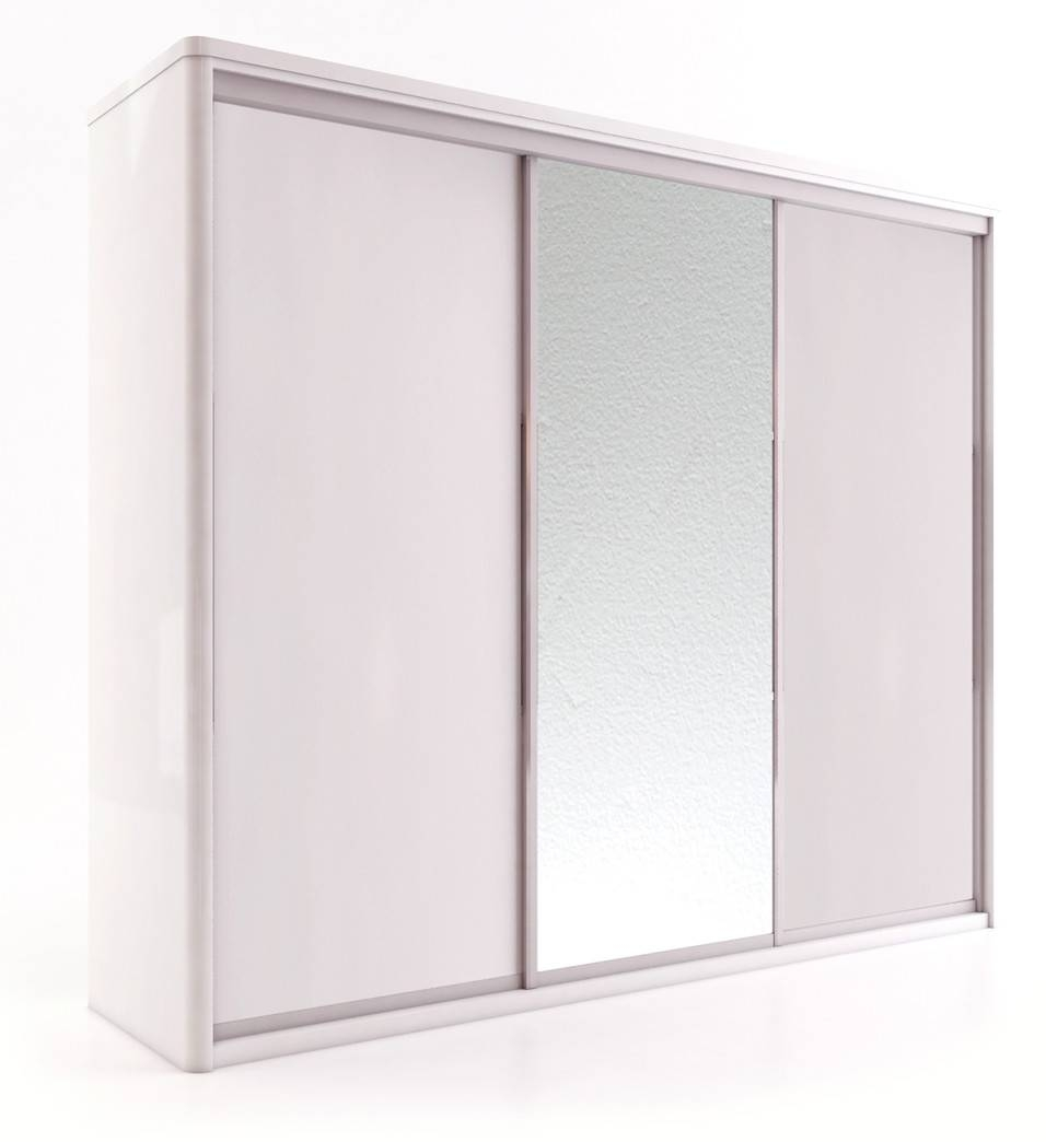 Free Standing Sliding Door Wardrobes. Wardrobes With Sliding Doors intended for One Door Mirrored Wardrobes (Image 6 of 15)
