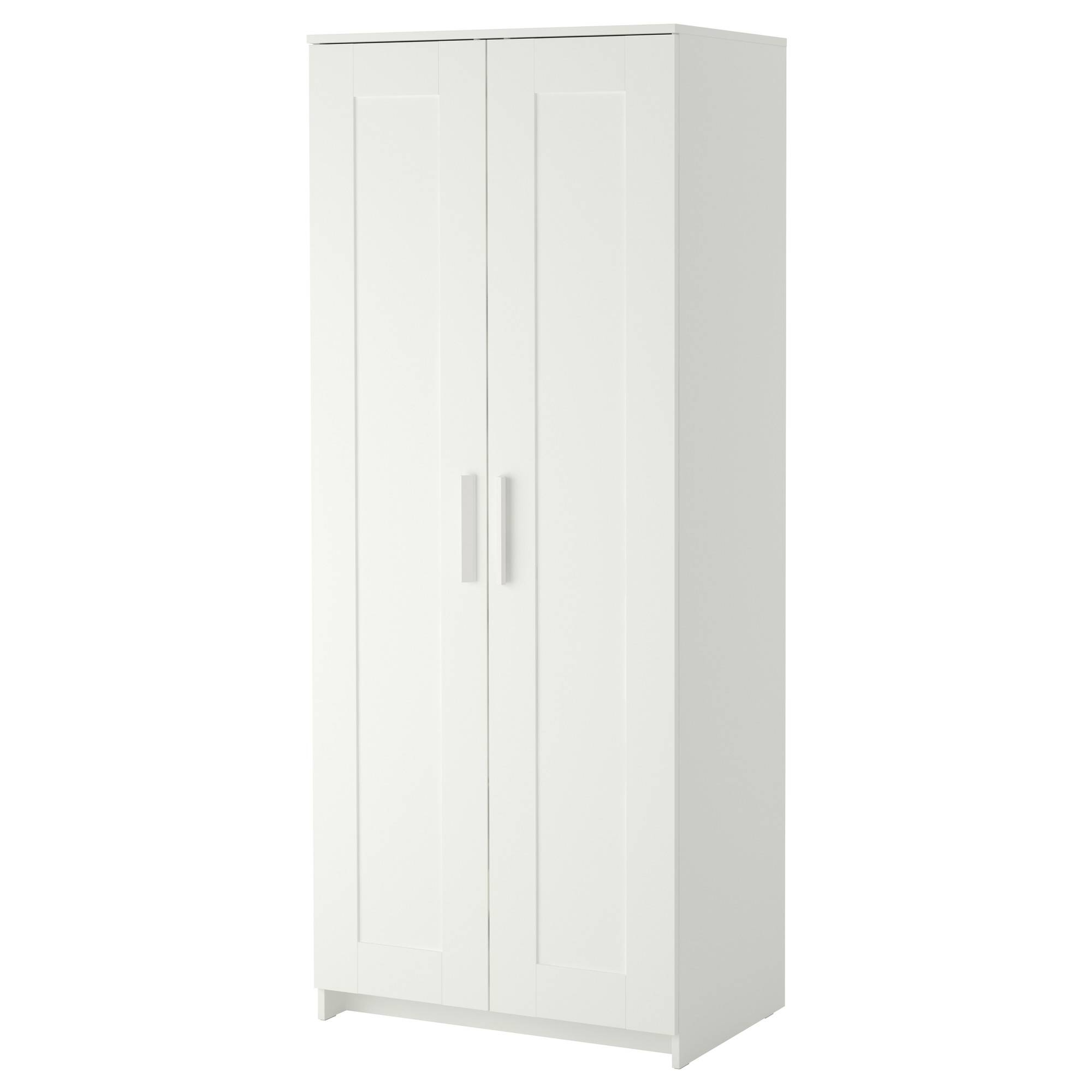 Free Standing Wardrobes | Ikea in Double Rail Wardrobes (Image 10 of 30)
