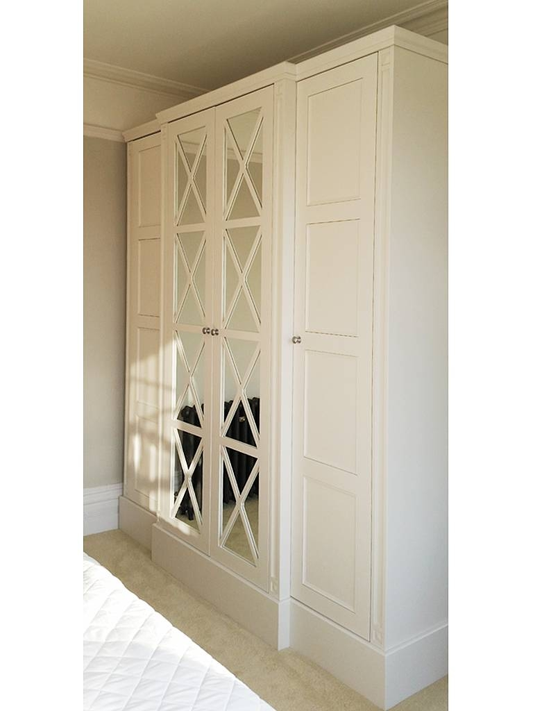 Freestanding Break-Fronted Wardrobe, Delivered And Installed inside Breakfront Wardrobe (Image 7 of 30)
