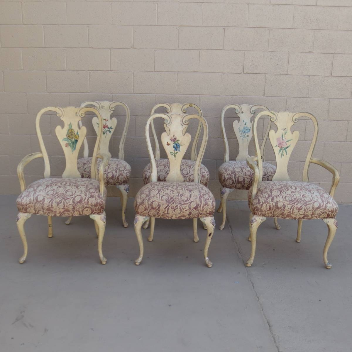 French Antique Dining Chairs Shabby Chic Chairs Antique Furniture inside Shabby Chic Sofas Cheap (Image 4 of 30)