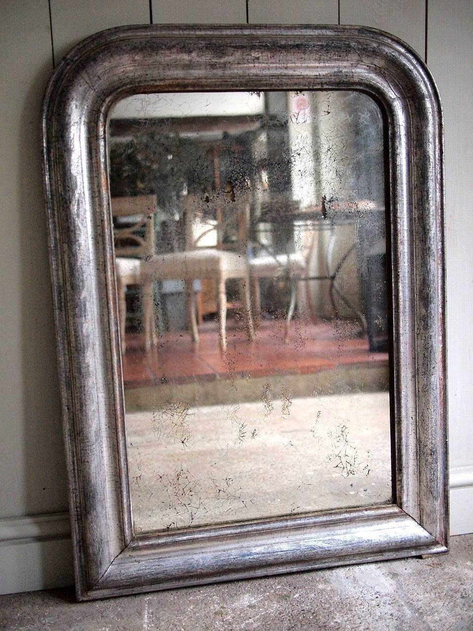 French Antique Silver Mirror › Puckhaber Decorative Antiques for Silver Antique Mirrors (Image 12 of 25)
