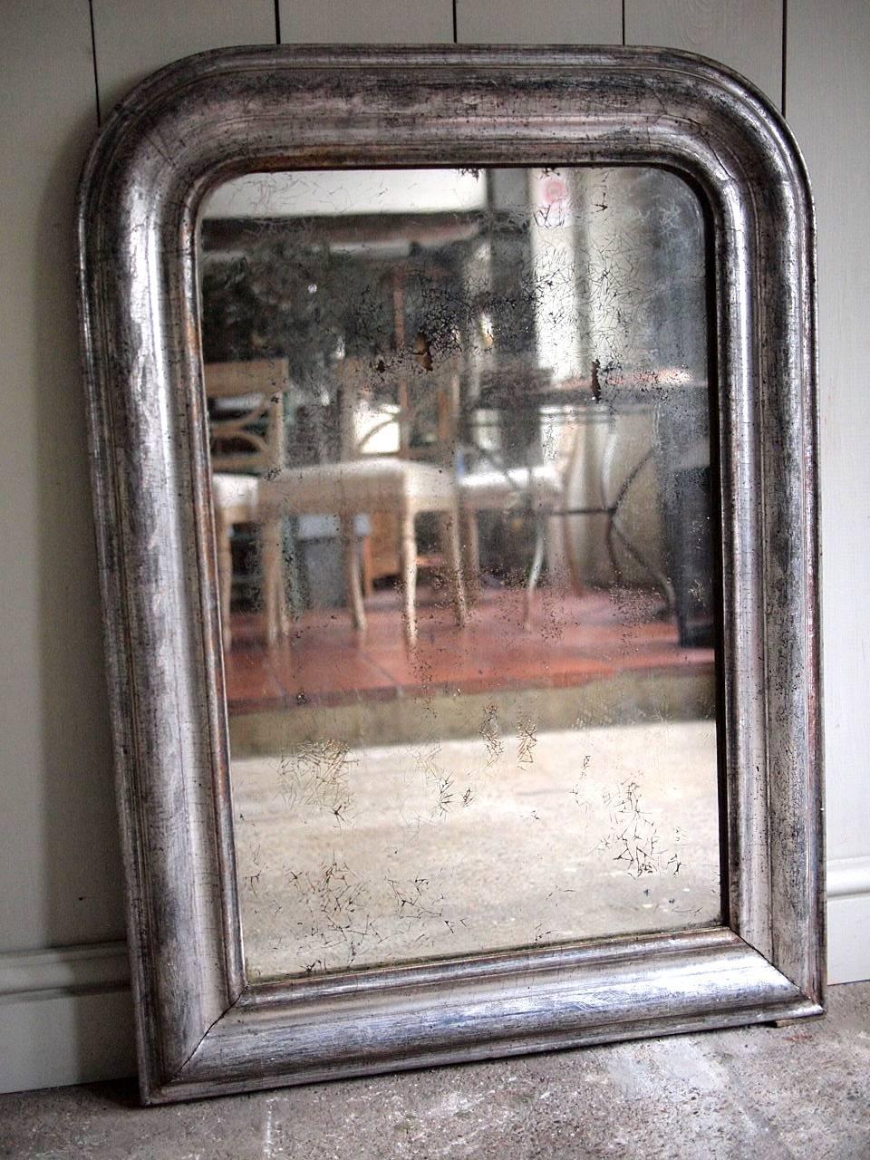 French Antique Silver Mirror › Puckhaber Decorative Antiques For Silver Antique Mirrors (View 12 of 25)