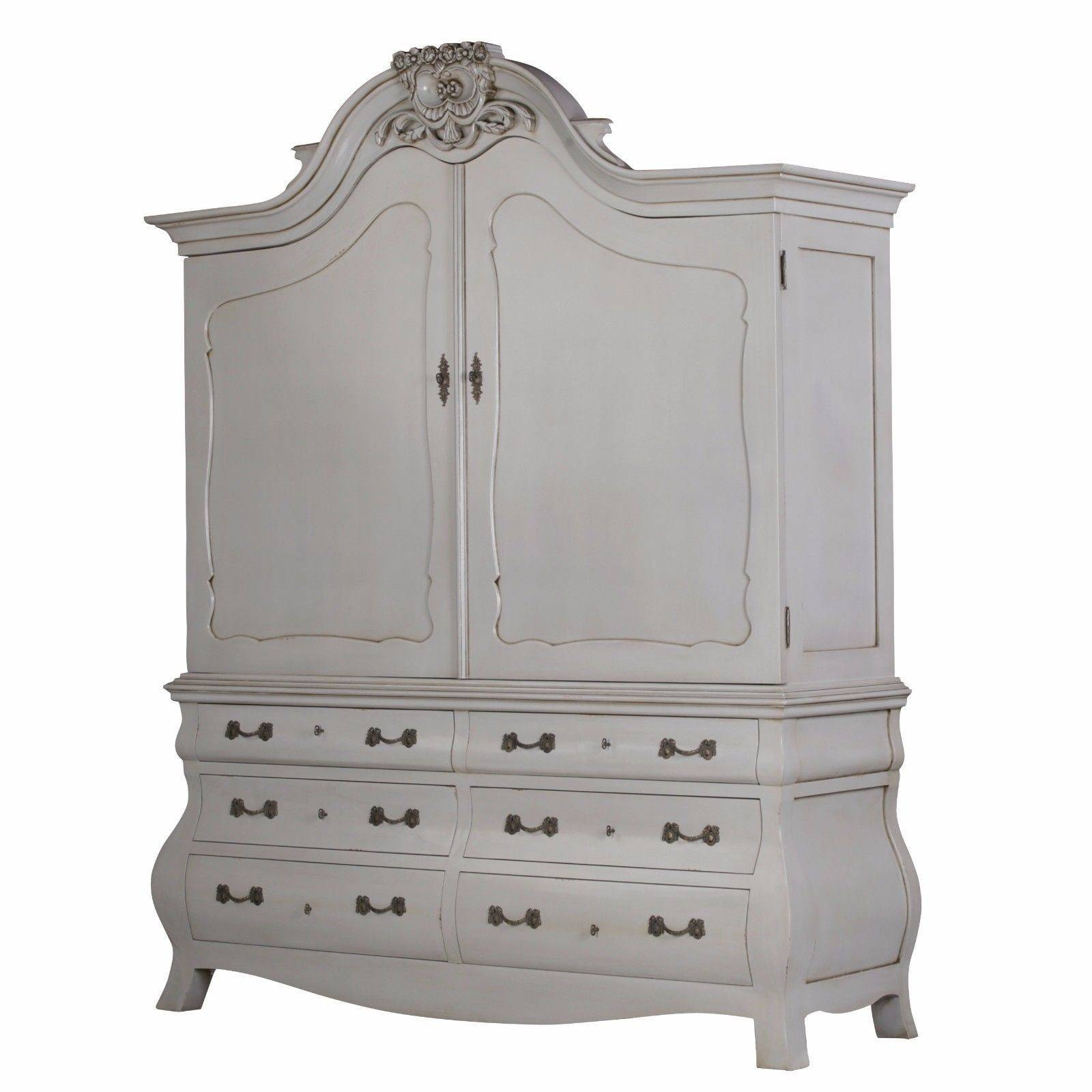 French Armories | French Wardrobes | Rococo Wardrobes Uk with Rococo Wardrobes (Image 4 of 15)