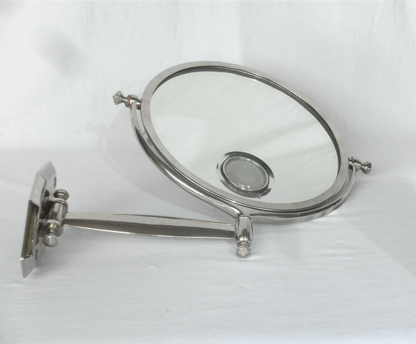 French Art Deco Wall Mirror With Light For Sale At Pamono with regard to Art Deco Wall Mirrors (Image 19 of 25)