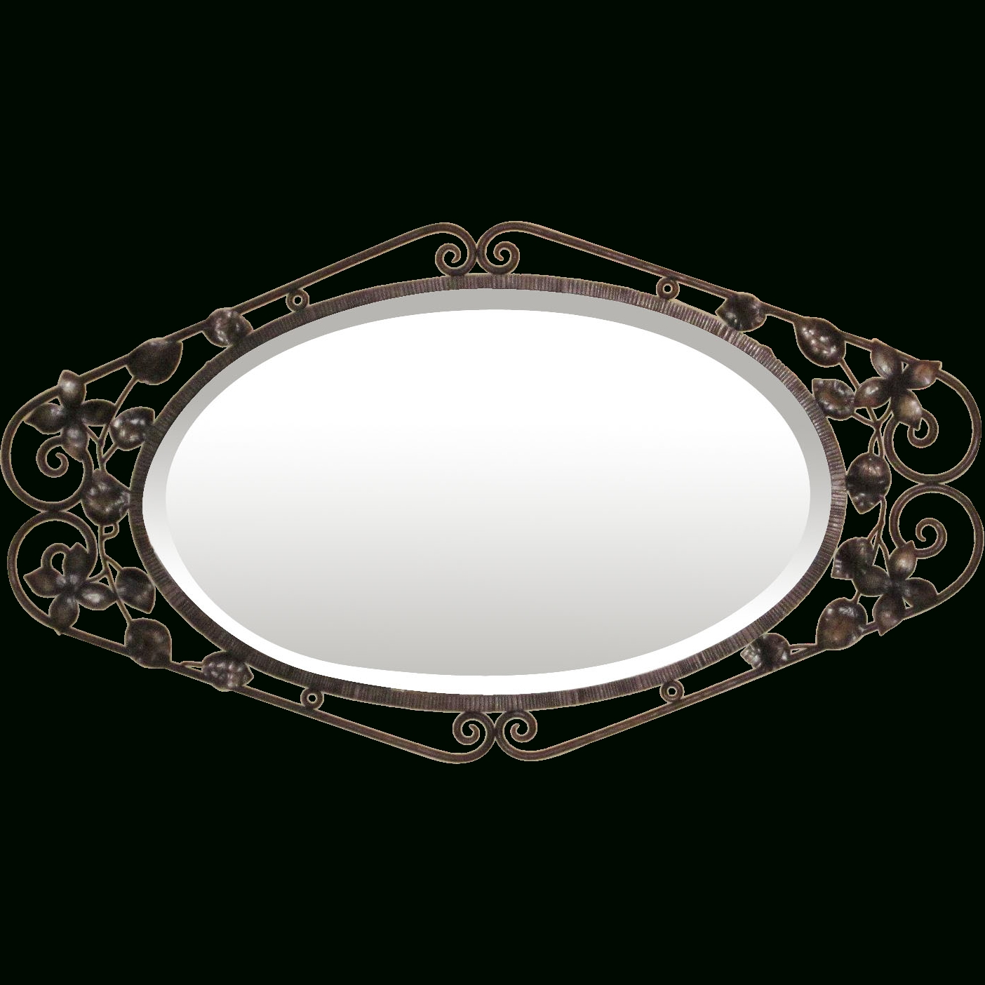 Featured Photo of Black Wrought Iron Mirrors