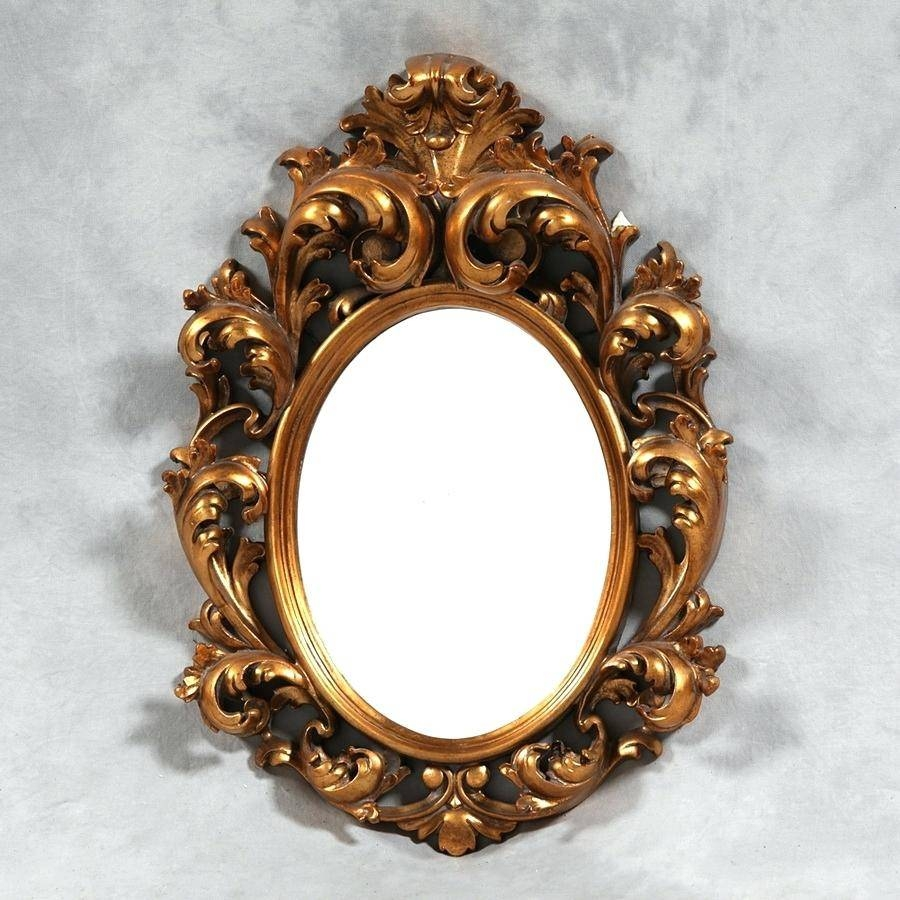 French Chic Mirror – Shopwiz in Oval Shabby Chic Mirrors (Image 10 of 25)