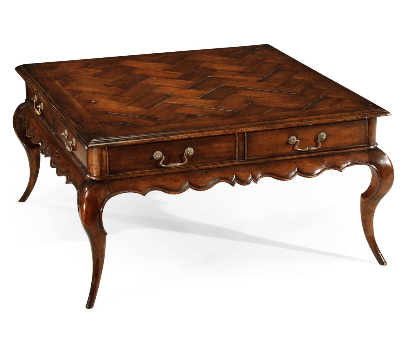 French Coffee Table Ivory Gold Style throughout Country French Coffee Tables (Image 16 of 30)